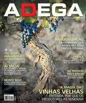 Capa Revista Revista ADEGA 99 - A magia das  vinhas velhas