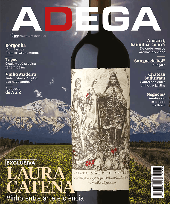 Capa Revista Revista ADEGA 185 - Exclusiva - Laura Catena