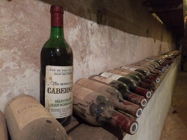vinhos guardados